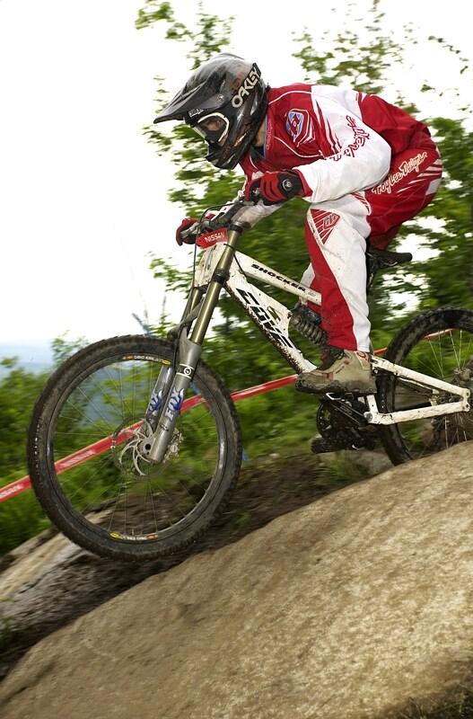 Nissan UCI MTB World Cup DH #5 - Bromont, 2.8. 2008 - Mat�j Charv�t