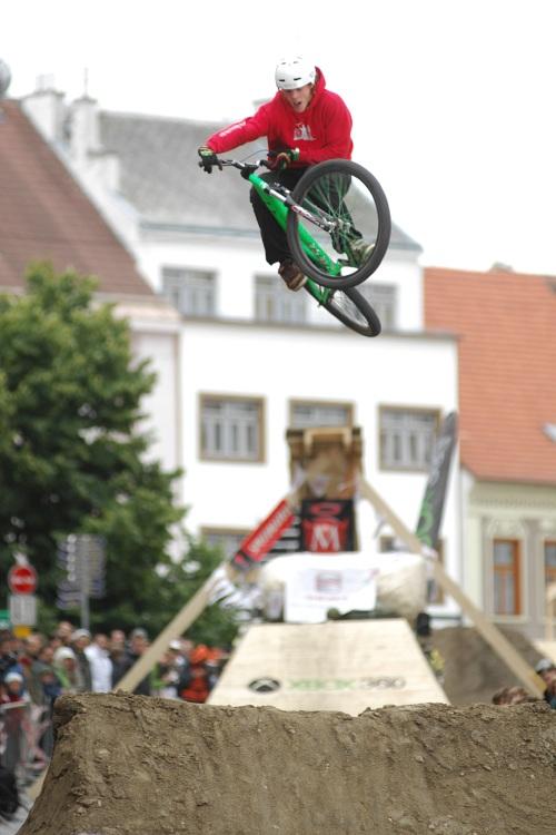 XBox 360 Slopestyle Písek '08 - Tomáš Šorejs