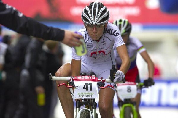 Nissan UCI MTB World Cup XC #9 - Schladming 14.9. 2008 - Maja Wloszczowska