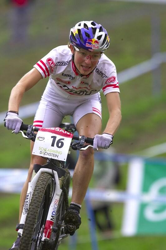 Nissan UCI MTB World Cup XC #9 - Schladming 14.9. 2008 - Elisabeth Osl