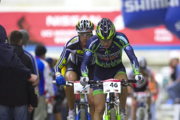 Nissan UCI MTB World Cup XC #9 - Schladming 14.9. 2008 - Milatz Moritz a Todd Wells