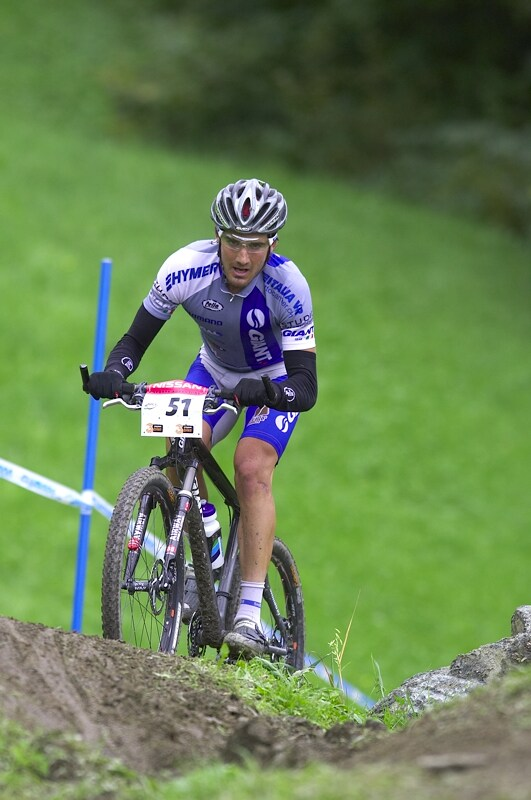 Nissan UCI MTB World Cup XC #9 - Schladming 14.9. 2008 - Ivan Alvarez Gutierrez
