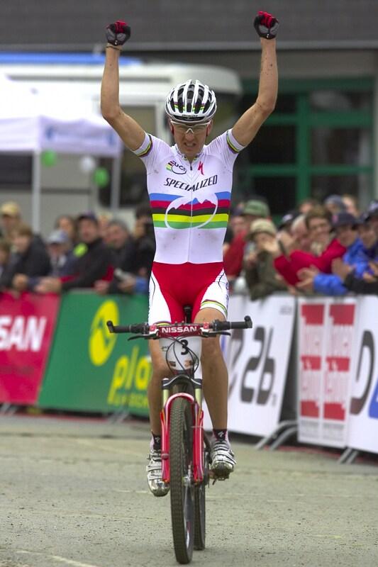 Nissan UCI MTB World Cup XC #9 - Schladming 14.9. 2008 - Christoph Sauser vítězí podruhé v letošní sezóně