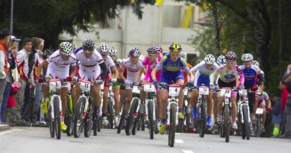Nissan UCI MTB World Cup XC #9 - Schladming 14.9. 2008 - start žen