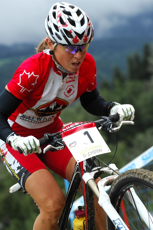 SP XC #9 Schladming 2008 - Marie Helene Premont