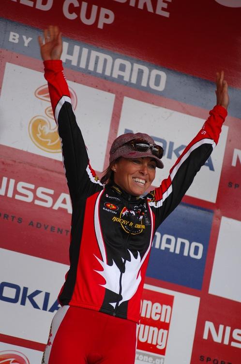 SP XC #9 Schladming 2008 - celková vítězka SP Marie Helene Premont