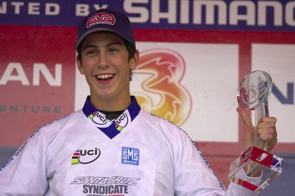 Nissan UCI MTB World Cup DH #7, Schladming 13.9. 2009 - Josh Bryceland - nejlépe hodnocený junior