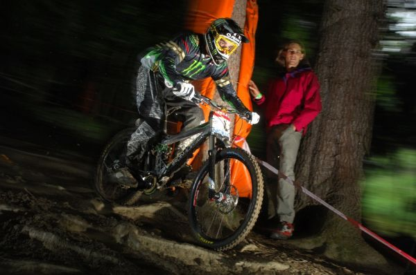 SP DH #7 Schladming 2008 - Sam Hill