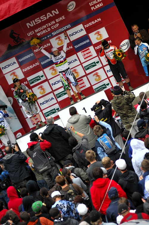 SP DH #7 Schladming 2008 - nejlep�� �eny