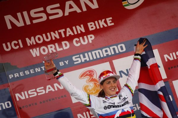 SP DH #7 Schladming 2008 - Rachel Atherton v�t�zkou SP DH 2008