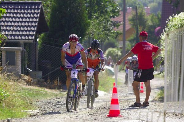 Rock Machine XC Cup #5 - Kuřim 6.9. 2008 - Jaroslav Kulhavý a Filip Eberl