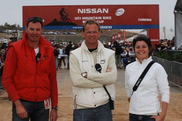 Nissan UCI MTB World Cup - Canberra 30.-31.8. 2008, foto: A. K�stenbr�ck