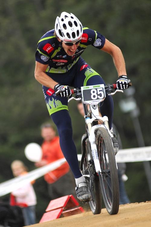 Merida Bike Vysočina '08 - sprint - Milanovo úsilí vyneslo třetí nejrychlejší čas