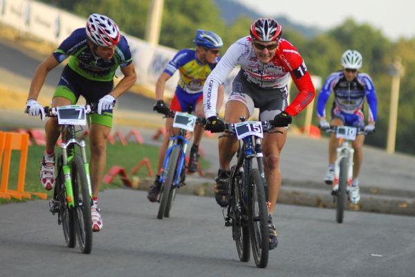Merida Bike Vysočina '08 - sprint: Pavel Boudný se velkých světových jmen nebál