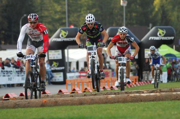 Merida Bike Vysočina '08 - sprint: Mužské malé finále vyhrál Pavel Boudný