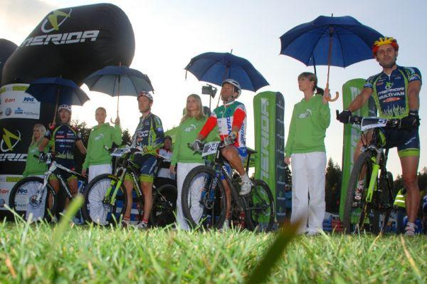 Merida Bike Vysočina '08 - sprint: mužské finále: Spěšný, Naef, Zoli a Hermida