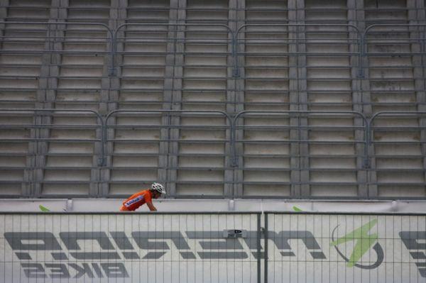 Merida Bike Vysočina, Nové Město na Moravě 28.9. 2008 - v neděli mnoho diváků nedorazilo