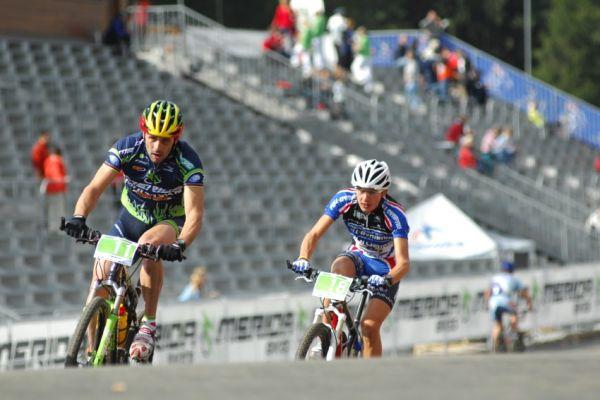 Merida Bike Vysočína '08 - XC: José Antonio Hermida a Tony Longo
