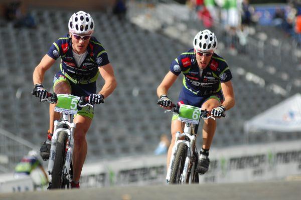 Merida Bike Vysočína '08 - XC: Jiří Friedl a Milan Spěšný