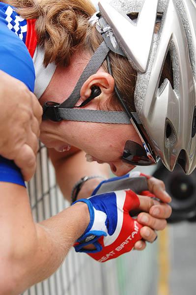 Mistrovství světa na silnici 2008, Varese/ITA - Nicole Cook, foto: Frank Bodenmüller/MTBSector.com