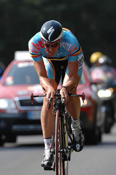 Mistrovství světa na silnici 2008, Varese/ITA - L. Hoste, foto: Frank Bodenmüller/MTBSector.com