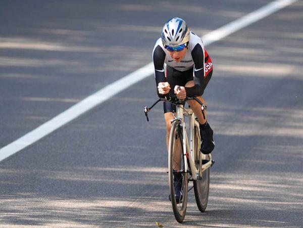Mistrovství světa na silnici 2008, Varese/ITA - budoucí mistryně světa Amber Neben, foto: Frank Bodenmüller/MTBSector.com
