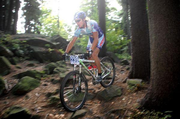 Merida Bike Maraton '08: Pavel Zerzan na Bohdalci