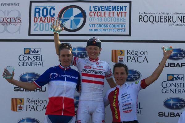 Roc d'Azur 2008 - Frejus/FRA - 1. Osl, 2. Ravanel, 3. Saner