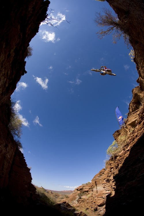 Red Bull Rampage 08 final: James Doerfling /foto: Christian Pondella - Red Bull/