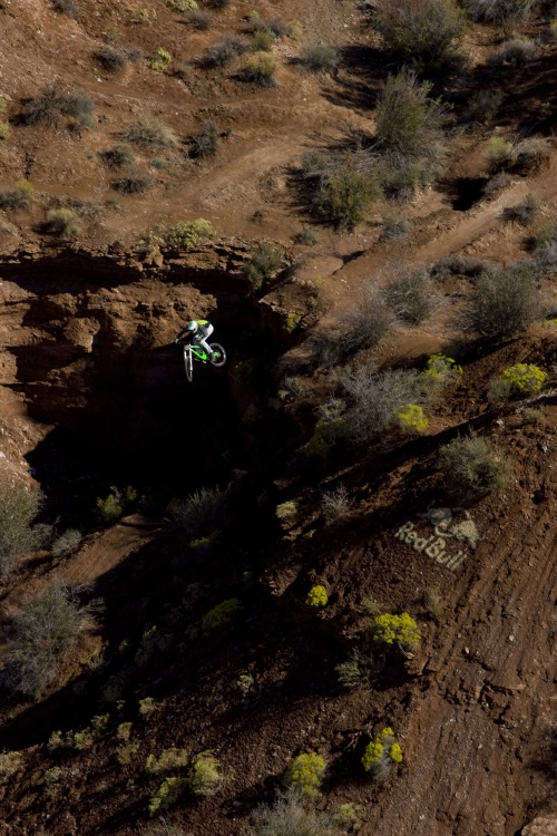 Red Bull Rampage 08 final: Cedric Gracia /foto Christian Pondella - Red Bull/