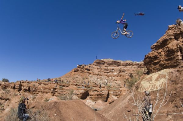Red Bull Rampage 08 final: Brandon Semenuk /foto: Ian Hylands - Red Bull/
