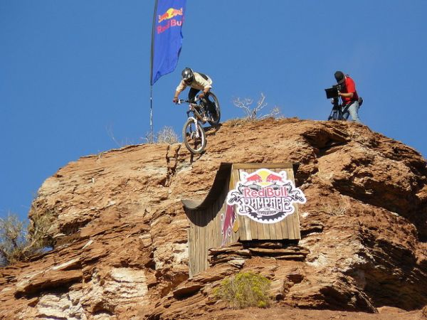 Red Bull Rampage the Evolution 2008, Virgin - Utah, USA - Graham Aggasiz, foto: Pavel Mikez
