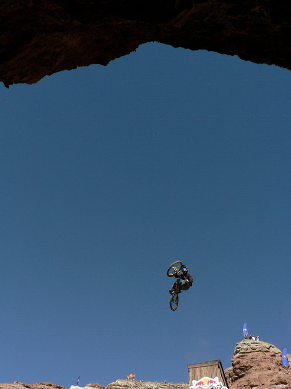 Red Bull Rampage the Evolution 2008, Virgin - Utah, USA - Kurt Sorge, foto: Pavel Mikez