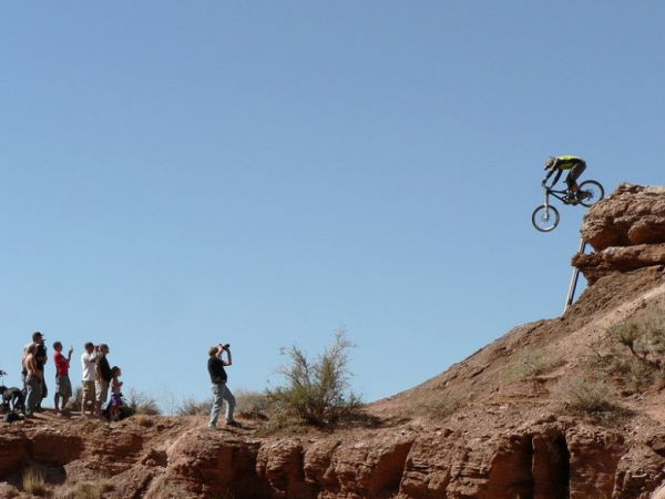 Red Bull Rampage the Evolution 2008, Virgin - Utah, USA - Kyle Strait, foto: Pavel Mikez