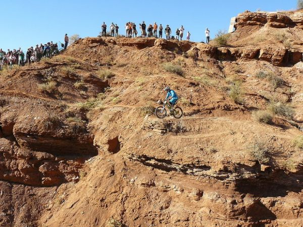Red Bull Rampage the Evolution 2008, Virgin - Utah, USA - Mike Hopkins, foto: Pavel Mikez