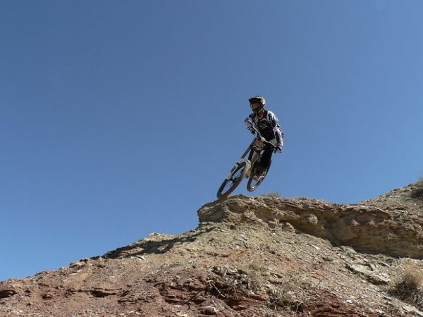 Red Bull Rampage the Evolution 2008, Virgin - Utah, USA - Cameron McCaul, foto: Pavel Mikez