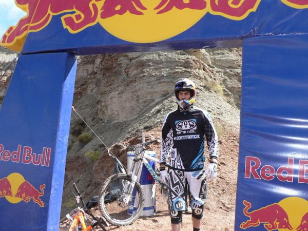Red Bull Rampage the Evolution 2008, Virgin - Utah, USA - Gee Atherton, foto: Pavel Mikez