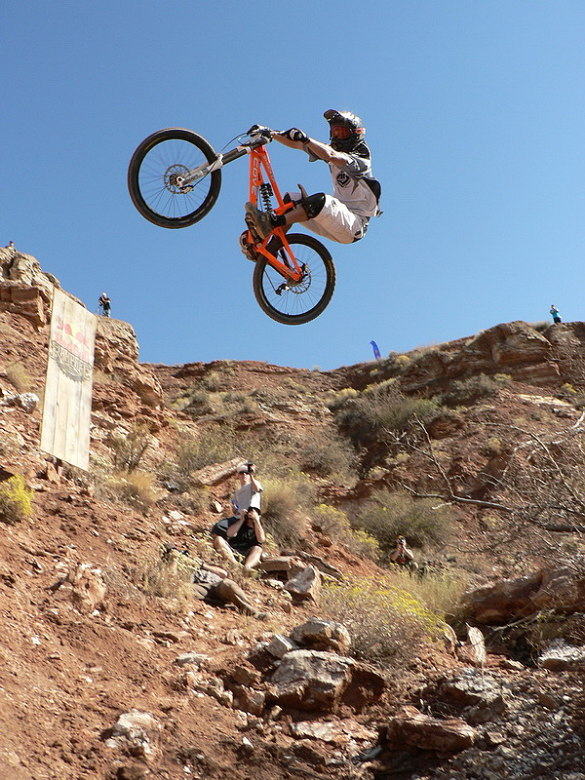 Red Bull Rampage the Evolution 2008, Virgin - Utah, USA - Kenny Smith, foto: Pavel Mikez