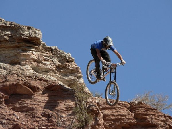Red Bull Rampage the Evolution 2008, Virgin - Utah, USA - Mike Kinrade, foto: Pavel Mikez