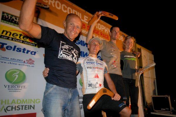 Crocodile Trophy 2008 - 3. etapa: Zdenda a Trunda na etapové bedně