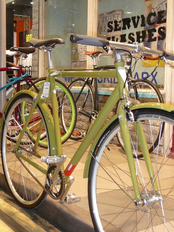 Cycle Show London 2008 - anglická elegance , foto: Petr Slavík
