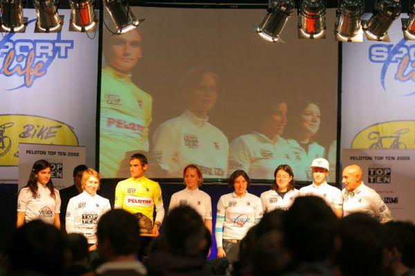 Sport Life, Brno 6.-9.11. 2008 - Top Ten Pelotonu - všichni ocenění