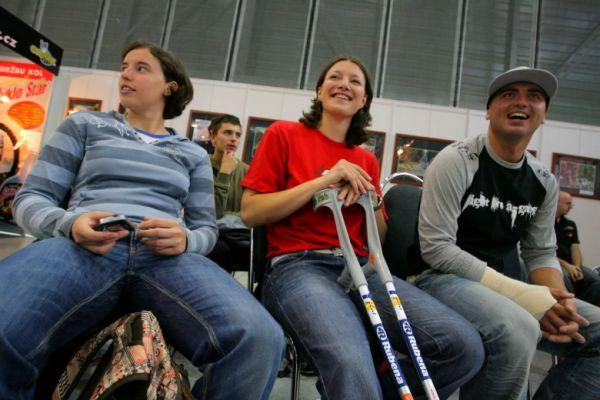 Sport Life, Brno 6.-9.11. 2008 - česká fourcrossová smetánka - Labounková, Horáková, Prokop