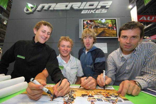 Sport Life 2008 Faces: Merida Biking Team ještě s Milanem Spěšným