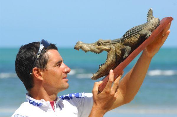 Crocodile Trophy 2008 - 10.etapa: podíval se krokodýlovi na zoubky