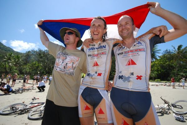 Crocodile Trophy 2008 - 10.etapa: Čurda, Kejvič a Láďa