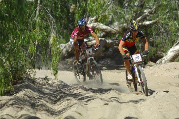 Crocodile Trophy 08 - 7.etapa: Vermeulen a Trunschka v písku