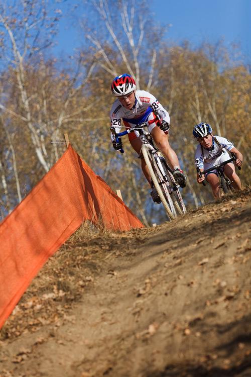 Světový pohár v cyklokrosu - Tábor 26.10.2008 - Pavla Havlíková