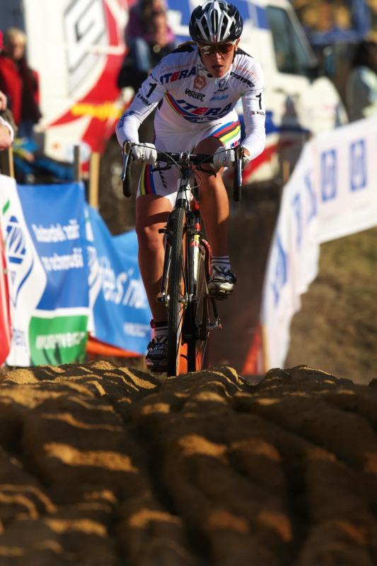 Světový pohár v cyklokrosu - Tábor 26.10.2008 - Hanka Kupfernagel