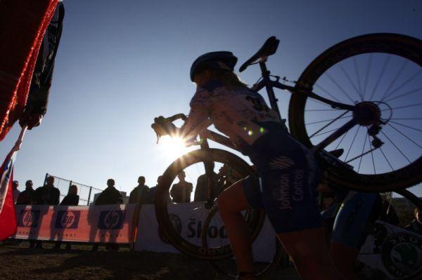 Světový pohár v cyklokrosu - Tábor 26.10.2008 - Jana Kyptová